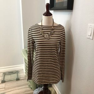 NWOT! GAP Striped Boatneck Tee